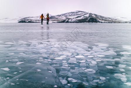 壮观的冰封世界 创业者走出资本寒冬图片