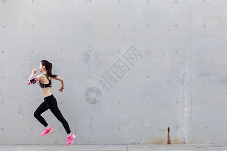 美女户外运动图片
