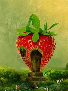 魔法的草莓屋图片