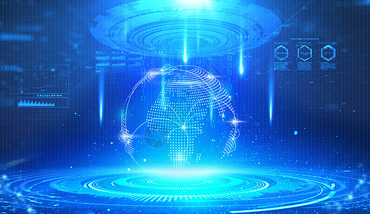 科技,地球,大数据图片