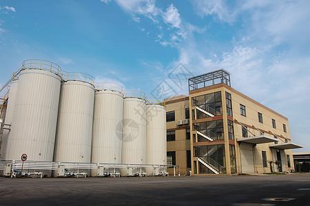 润滑油工厂外景图片