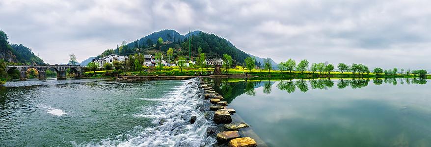 黟县小溪水车图片