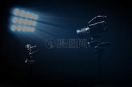光 摄影机图片