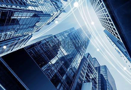 城市信息科技传递图片