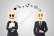 商务人士之间的特殊沟通图片