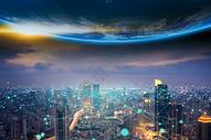 地球网络信息图片
