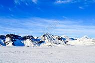 冰岛的冰雪世界图片