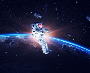 宇宙 宇航员图片