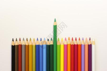 多彩铅笔图片