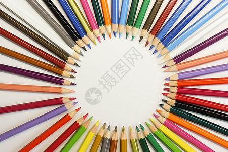 多彩画笔图片