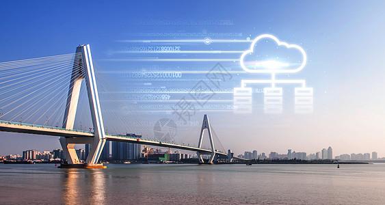 铁拉大桥云数据图片
