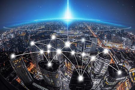 互联网通信现代科技背景素材图片