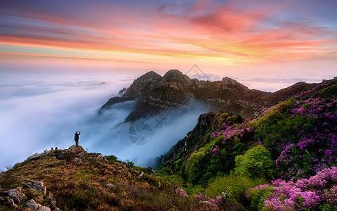 山脉美景图片