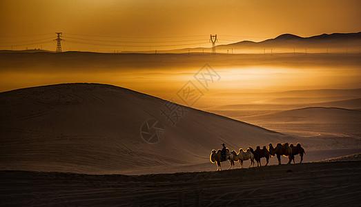 巴丹吉林沙漠图片