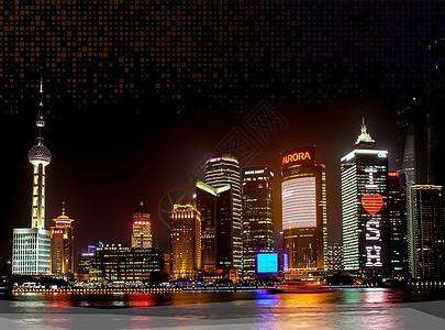 上海夜色图片
