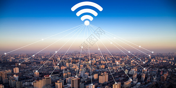 城市wifi覆盖图片
