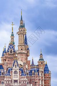 迪斯尼城堡图片