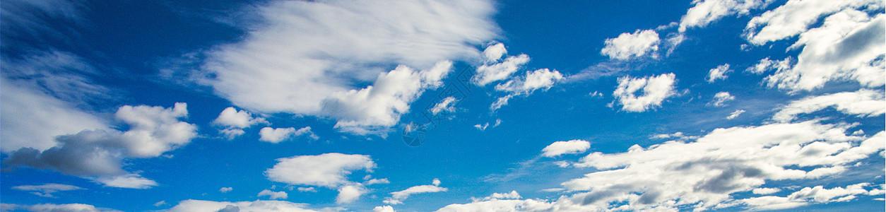 天空晴空万里 蓝天白云图片