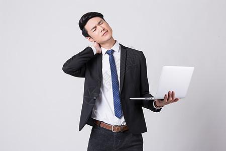 办公室白领脊椎病职业病图片