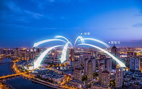 商业发展城市图片