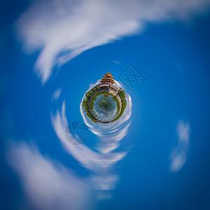 星球上紫禁城图片