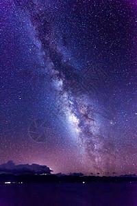 纳木错的银河图片