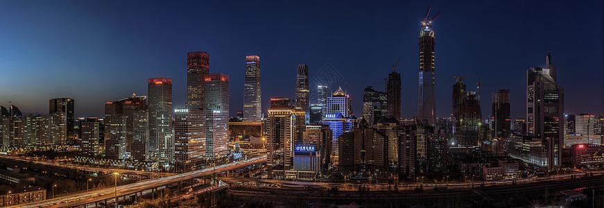 北京CBD全景图片