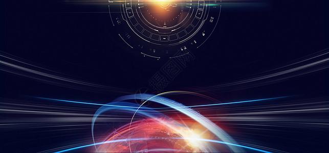 炫酷科学技术背景图片