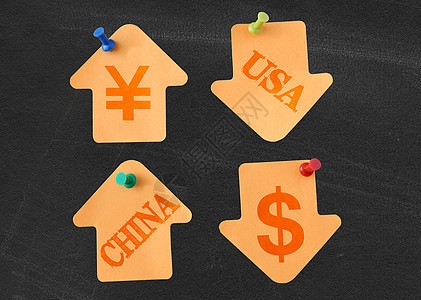 人民币慢慢升值,美元慢慢贬值图片