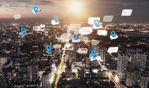 世界地图与城市图片