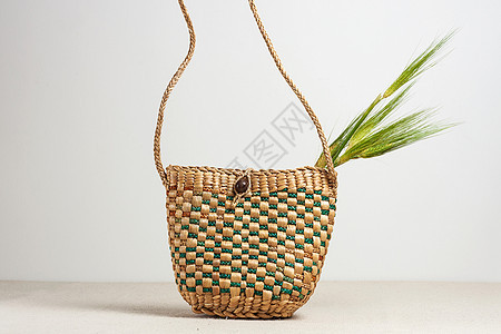 纯手工编织提篮图片