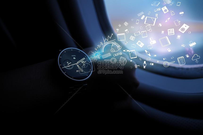 智能科技智能手环