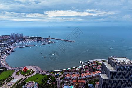 鸟瞰城市图片