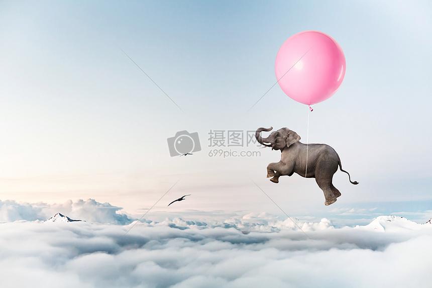 小瓢虫飞音乐下载_小飞象高清图片下载-正版图片500350840-摄图网