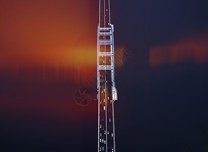 大桥俯拍 图形化图片