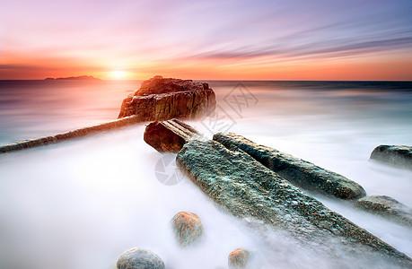 海雾仙境图片