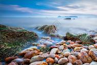 海景夕阳图片