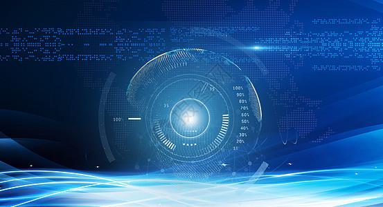 科技感地球图片