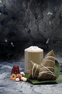 端午节端午粽子中国风摄影图片