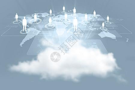 云网络连接图图片