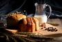 牛奶面包营养早餐图片
