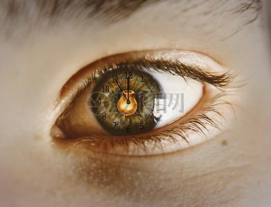 美丽眼睛的女人图片