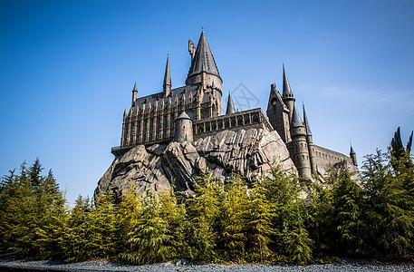 哈利波特城堡图片