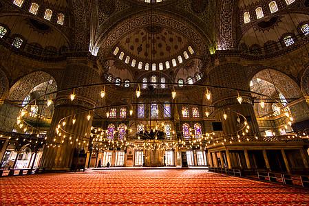 蓝色清真寺-圣地图片