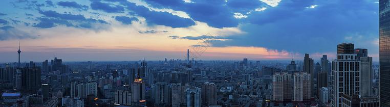 城市天际线图片
