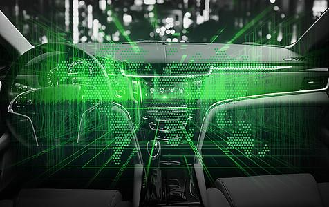 无人驾驶科技车图片