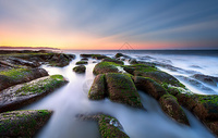一望无际的天涯海角海景风光图片