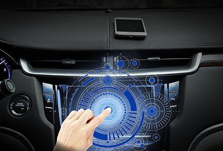 智能汽车触屏图片