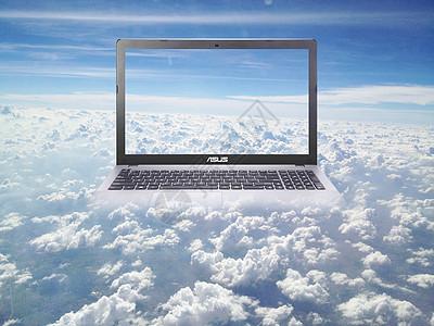 电脑云世界图片