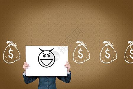 金钱的诱惑图片
